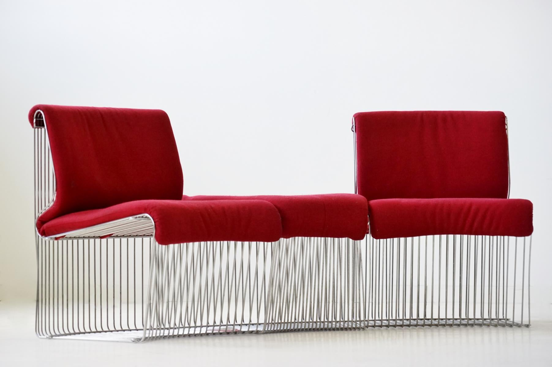 Wohnlandschaft Sale Pantonova Fritz Hansen Verner Panton Chair Sofa Modules Original Fabric