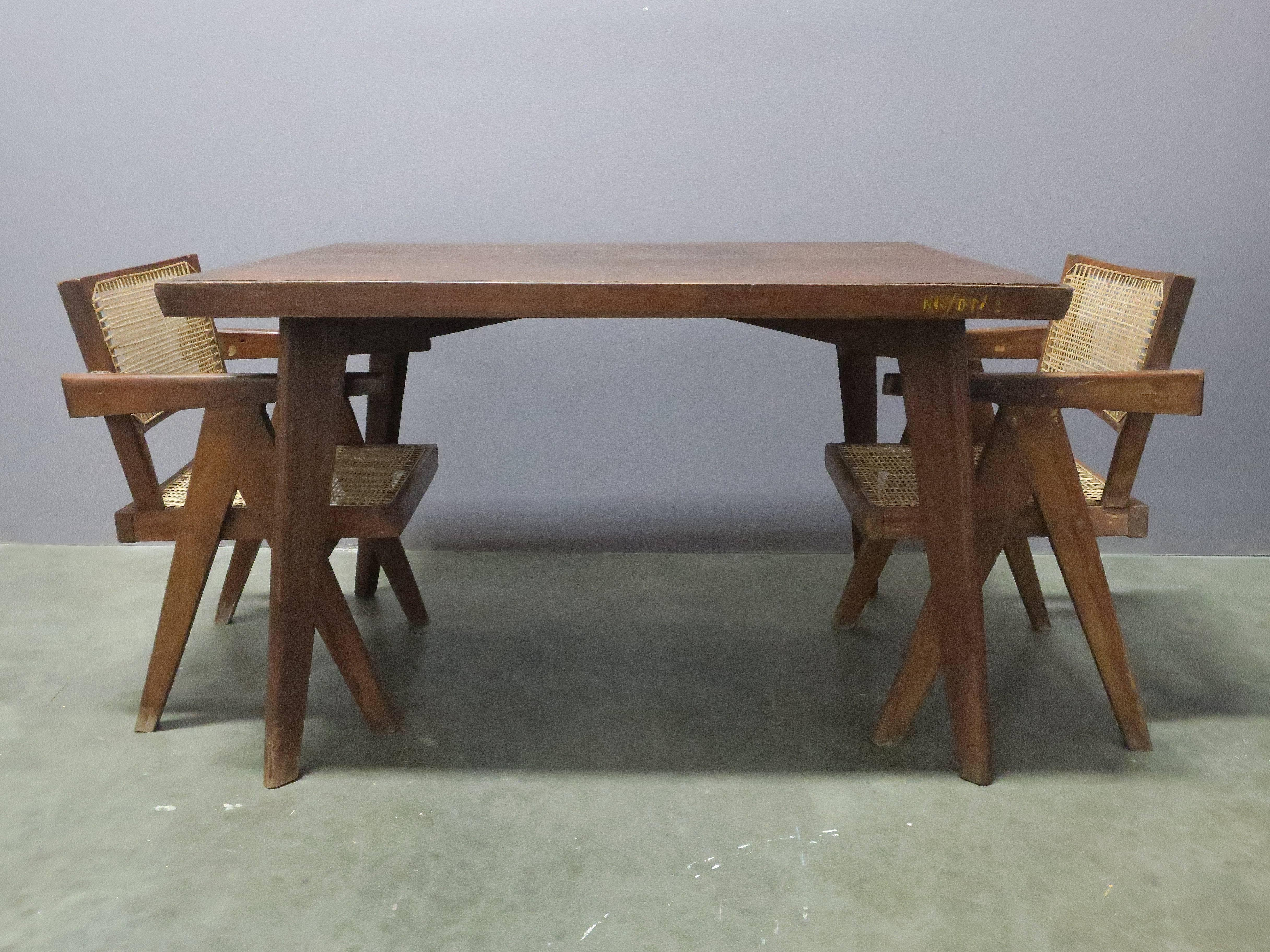 Small Dining Table Pierre Jeanneret Dining Table