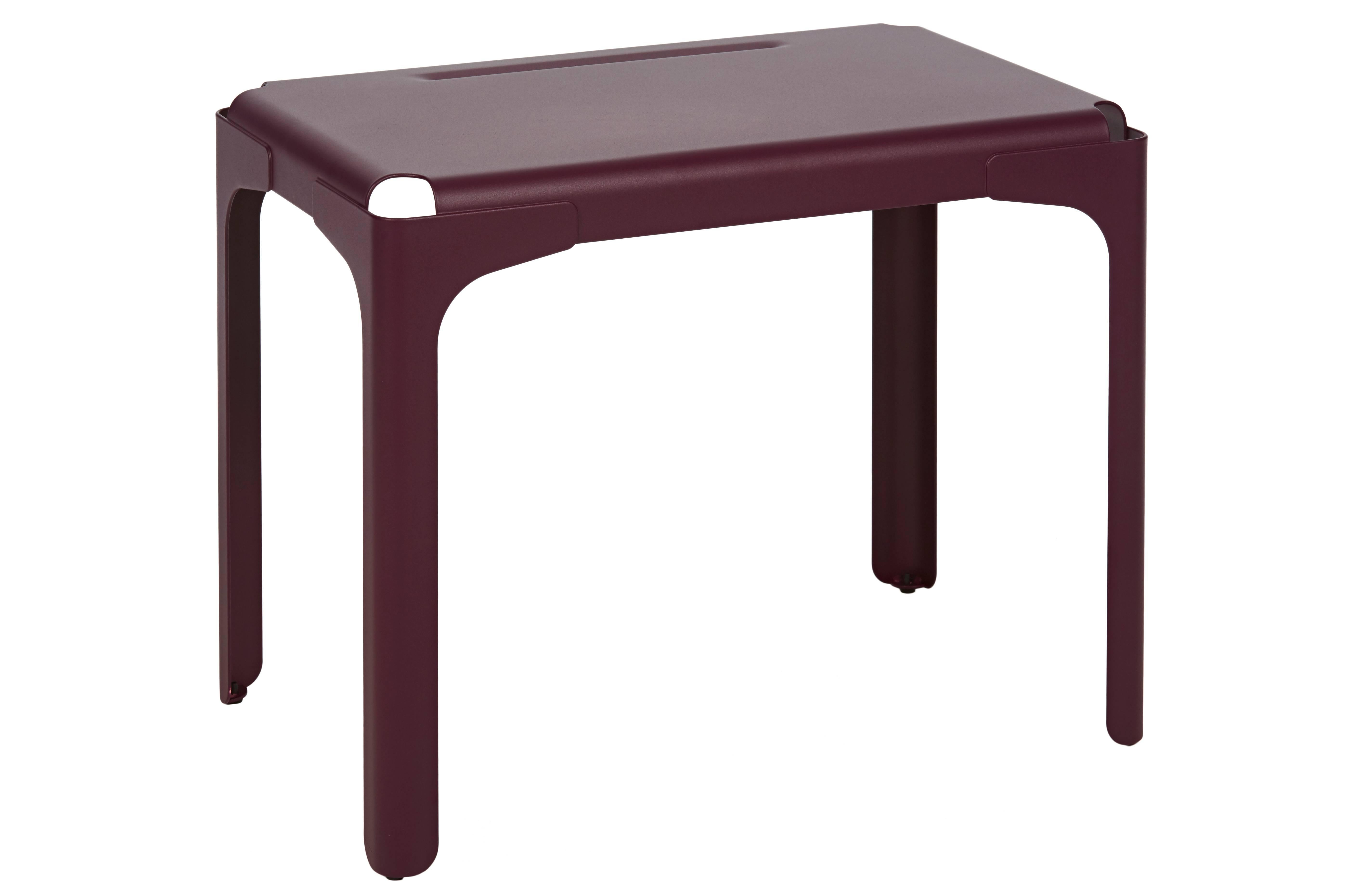 Bureau Tolix Rhino Kids Desk In Aubergine By Tolix
