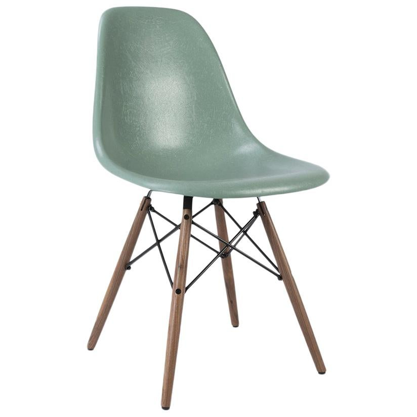 Vitra Eames Side Chair Seafoam Vitra Eames Dsw Fiberglass Dining Side Shell Chair