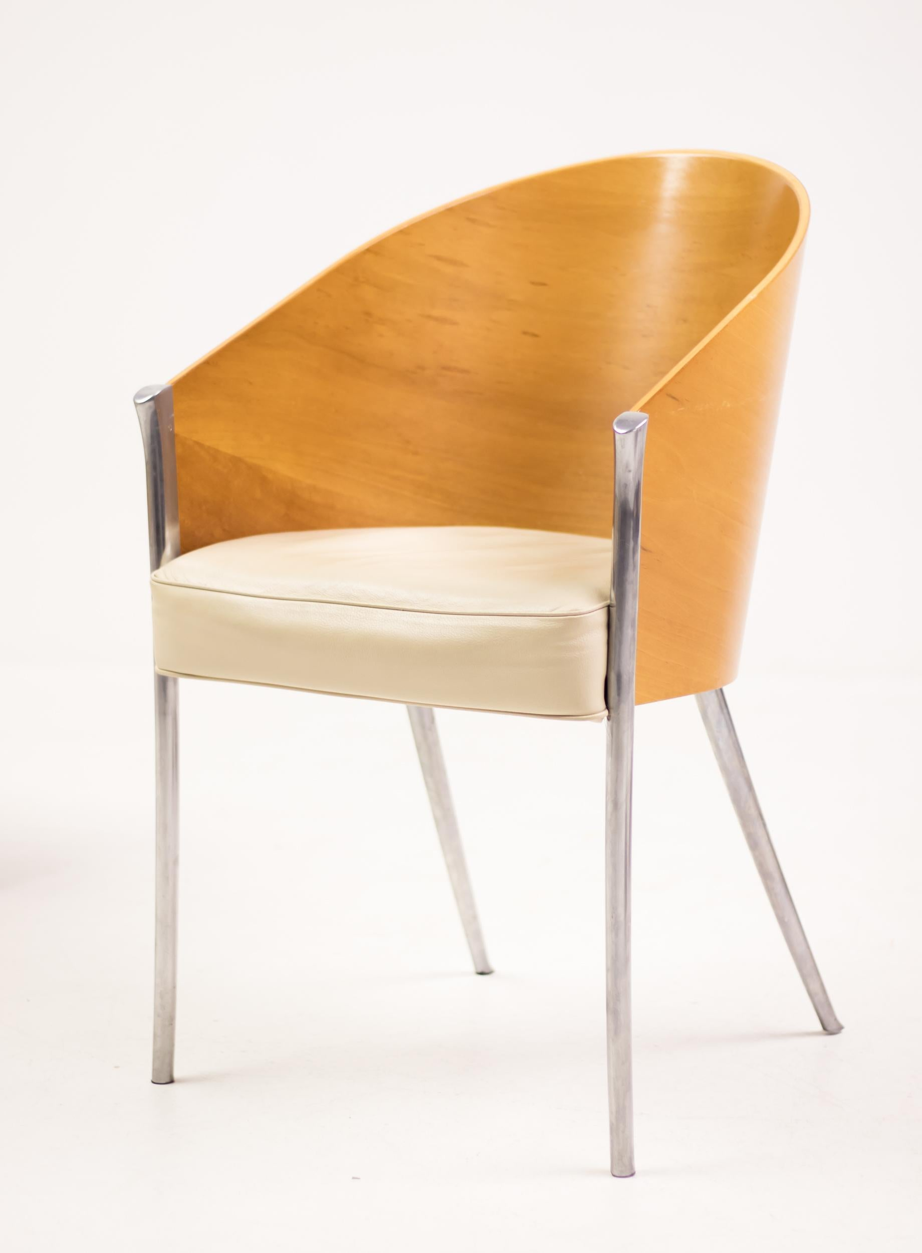 Set Of Four King Costes Chairs By Philippe Starck Im