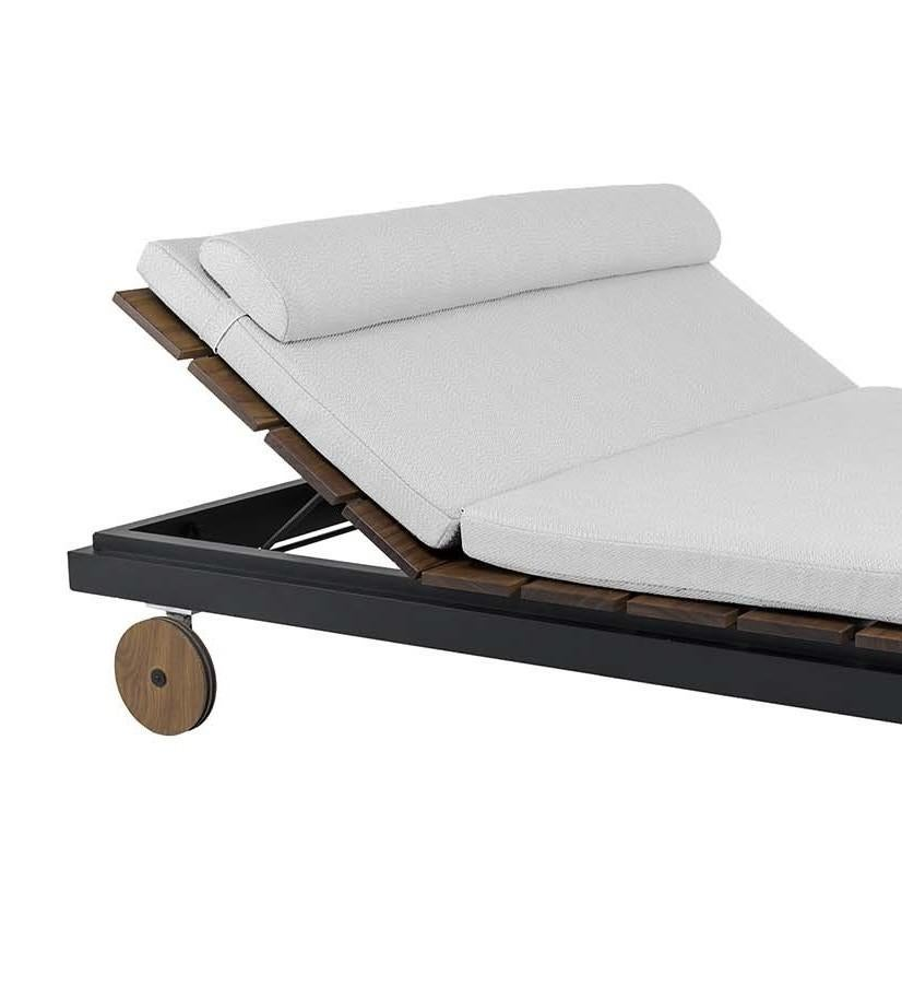 Chaise Longue Acapulco Tecla Black Double Chaise Longue By Braid Outdoor