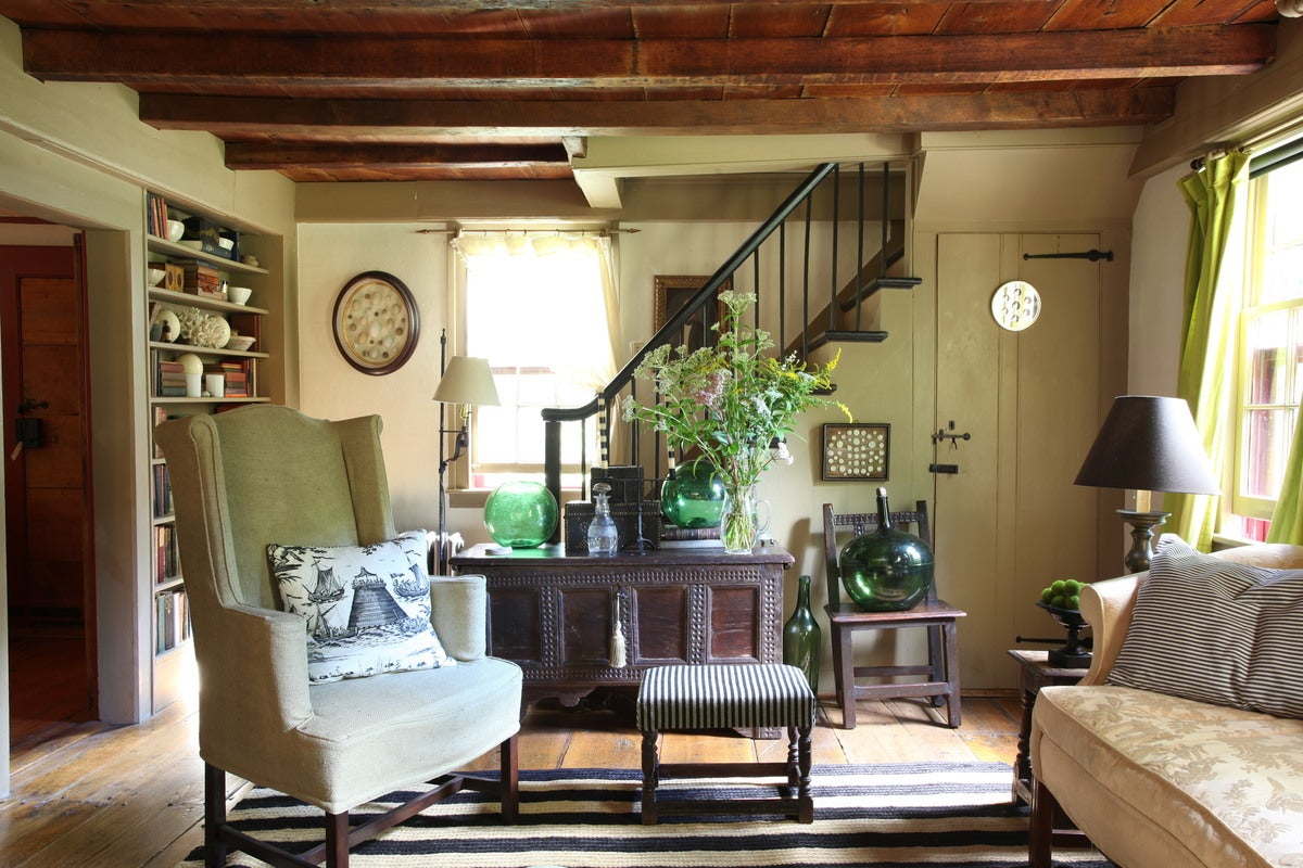 English Farmhouse Interiors Farmhouse Living Room In Litchfield Ct By Annie Kelly Art