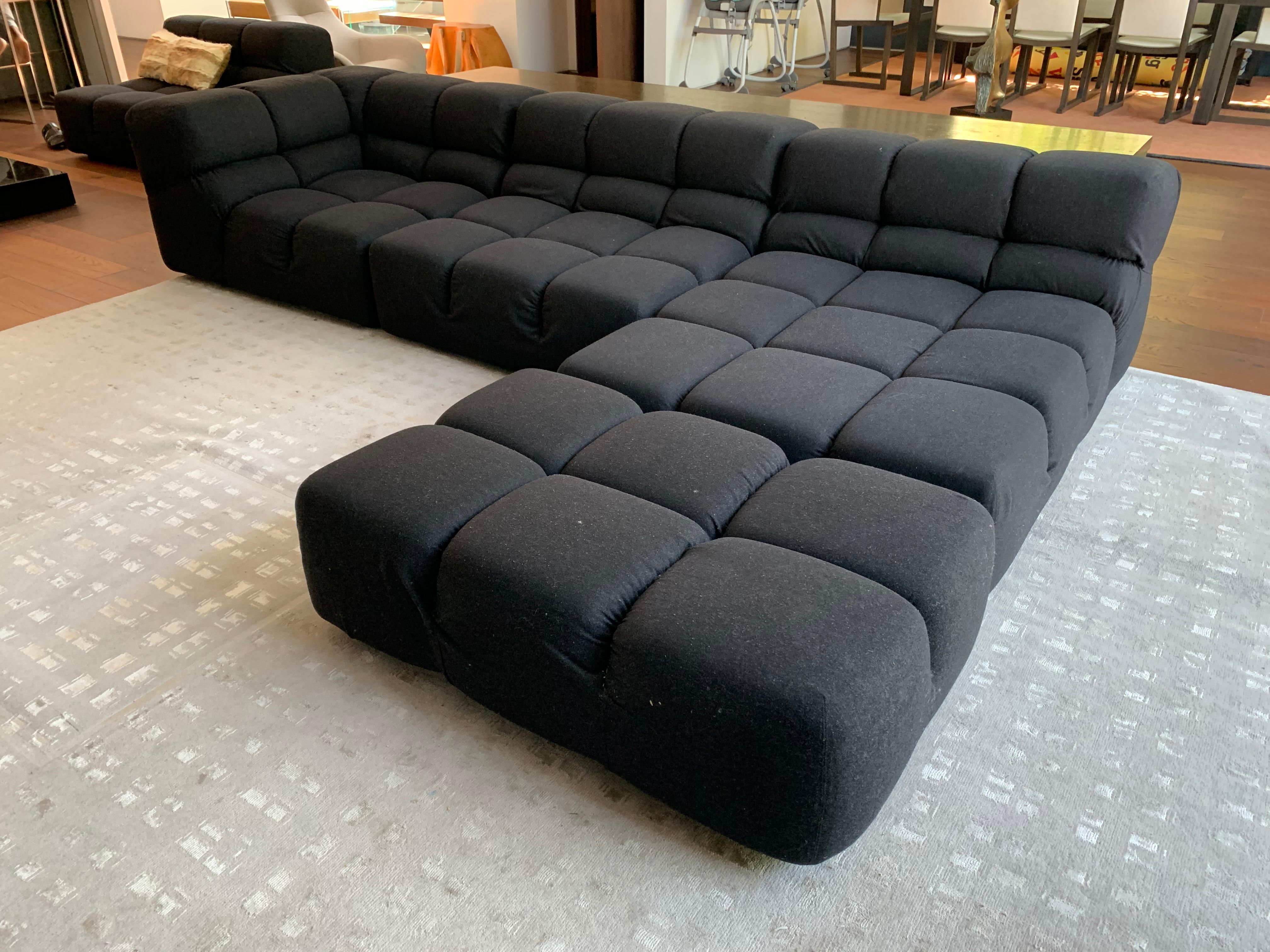Tufty Time Sectional Sofa By Patricia Urquiola For B B Italia At 1stdibs