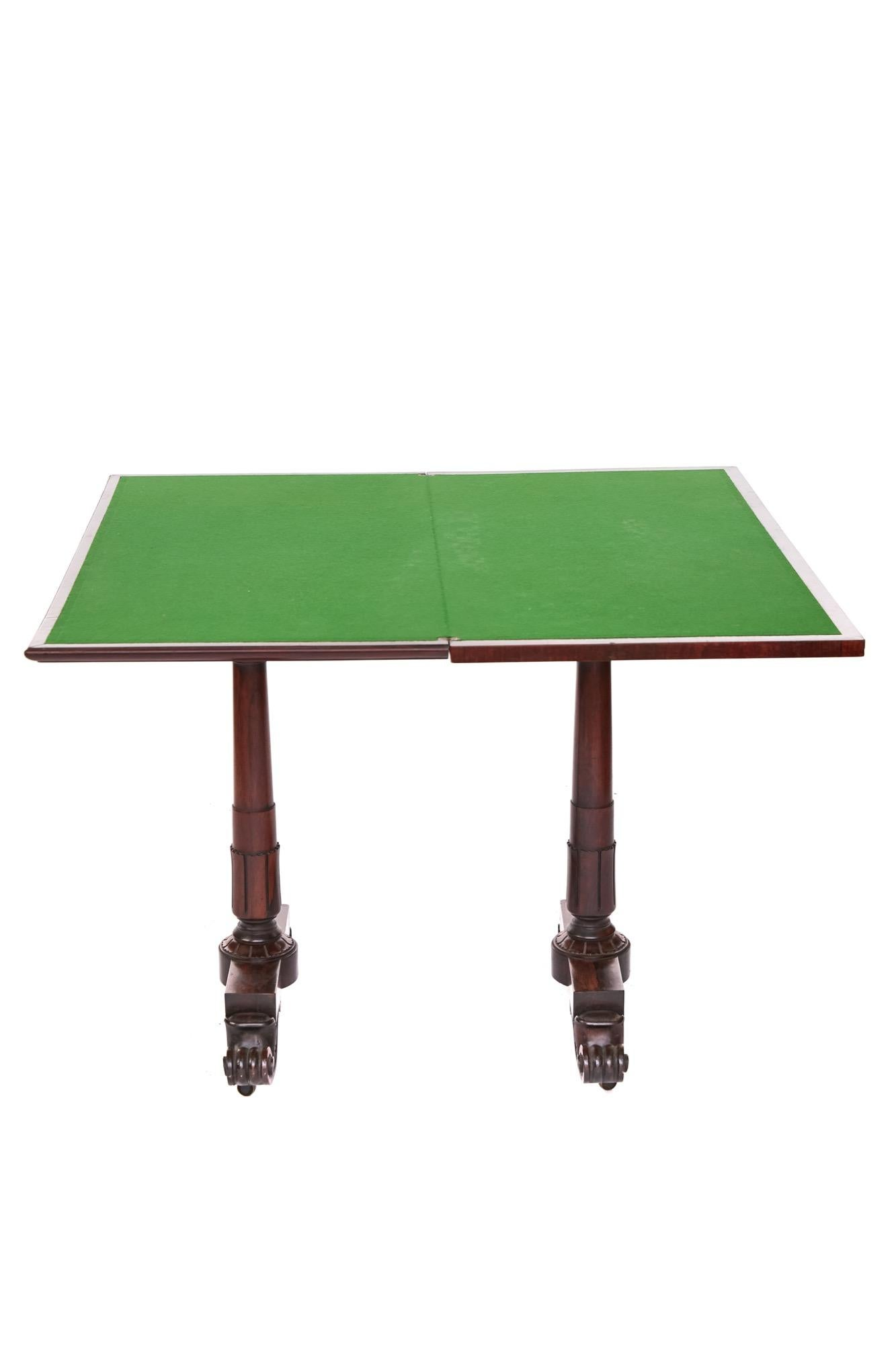 Folding Card Table Canada Antique And Vintage Card Tables And Tea Tables 985 For Sale At
