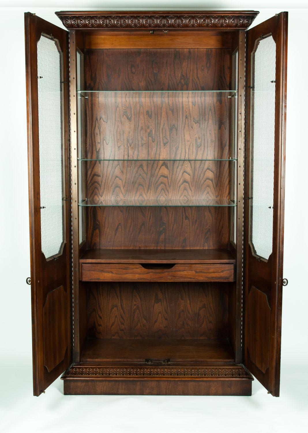 Vintage Vitrine Vintage Study Room Or Bookcase Vitrine Display Cabinet
