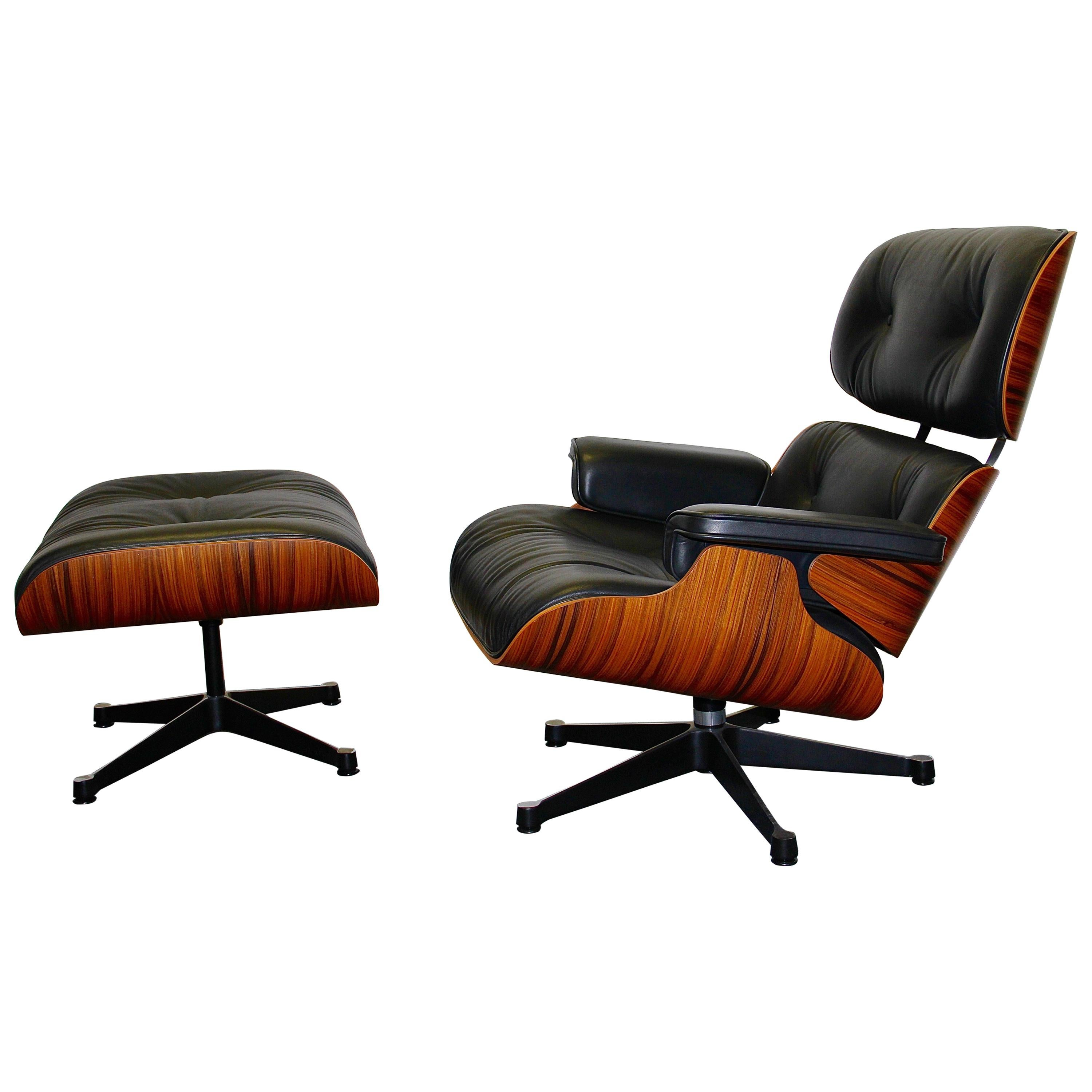 Vitra Eames Lounge Chair Vitra Charles Ray Eames Lounge Chair And Ottoman Limited Anniversary Edition