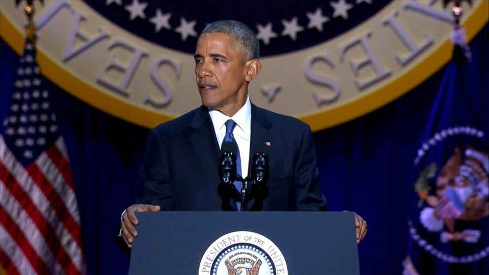 President Obama Saying Farewell, Reflecting on Presidency Video - barack obama resume