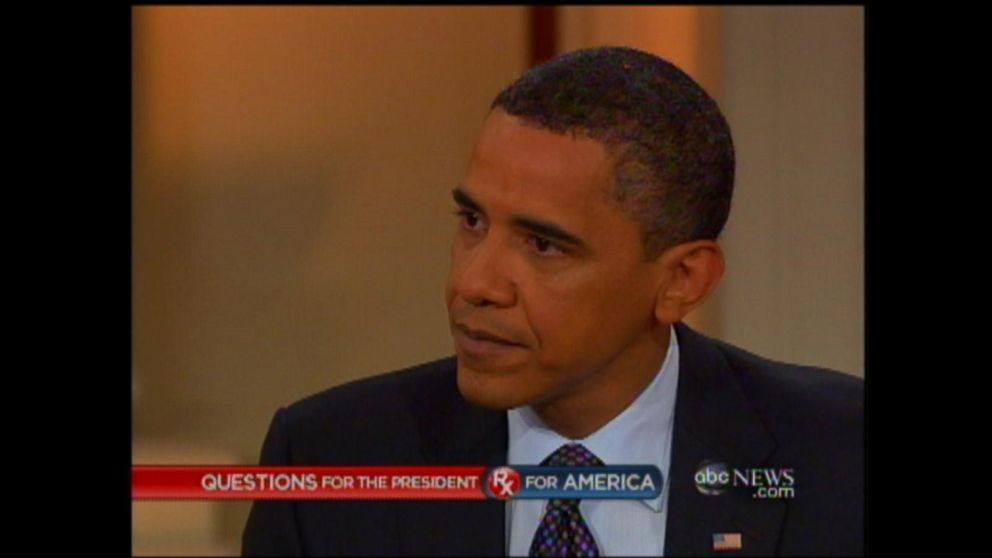 2009 town hall President Obama answers Americau0027s questions Video - barack obama resume