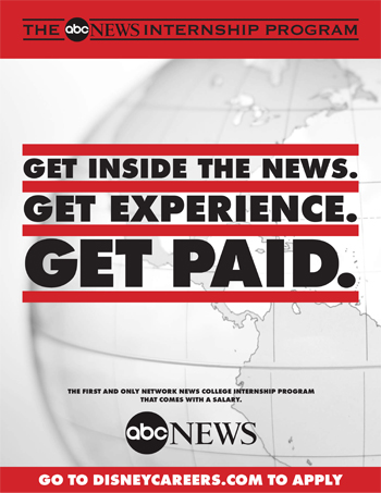 Learn About Internships Available at ABC News - ABC News