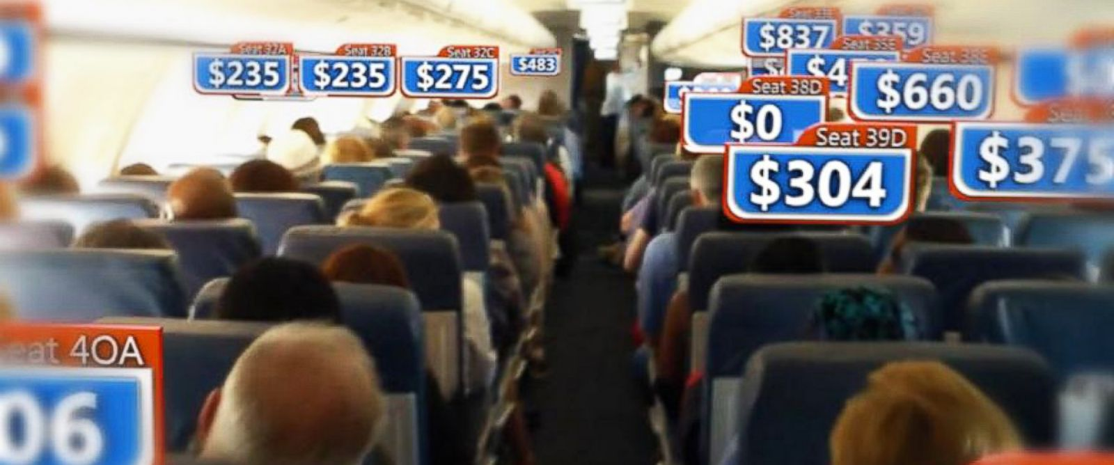 Air Prices Airline Ticket Prices Shown To Vary Wildly Among Seats On