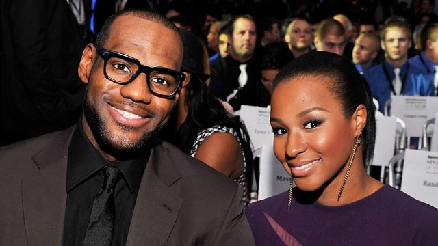 PHOTO: LeBron James and Savannah Brinson attend the 2012 Sports Illustrated Sportsman of the Year award presentation at Espace, Dec. 5, 2012 in New York City.