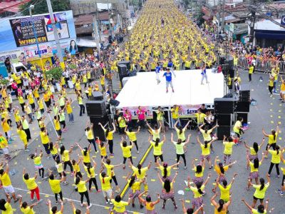 Philippines Crushes World Record for Largest Zumba Class ...