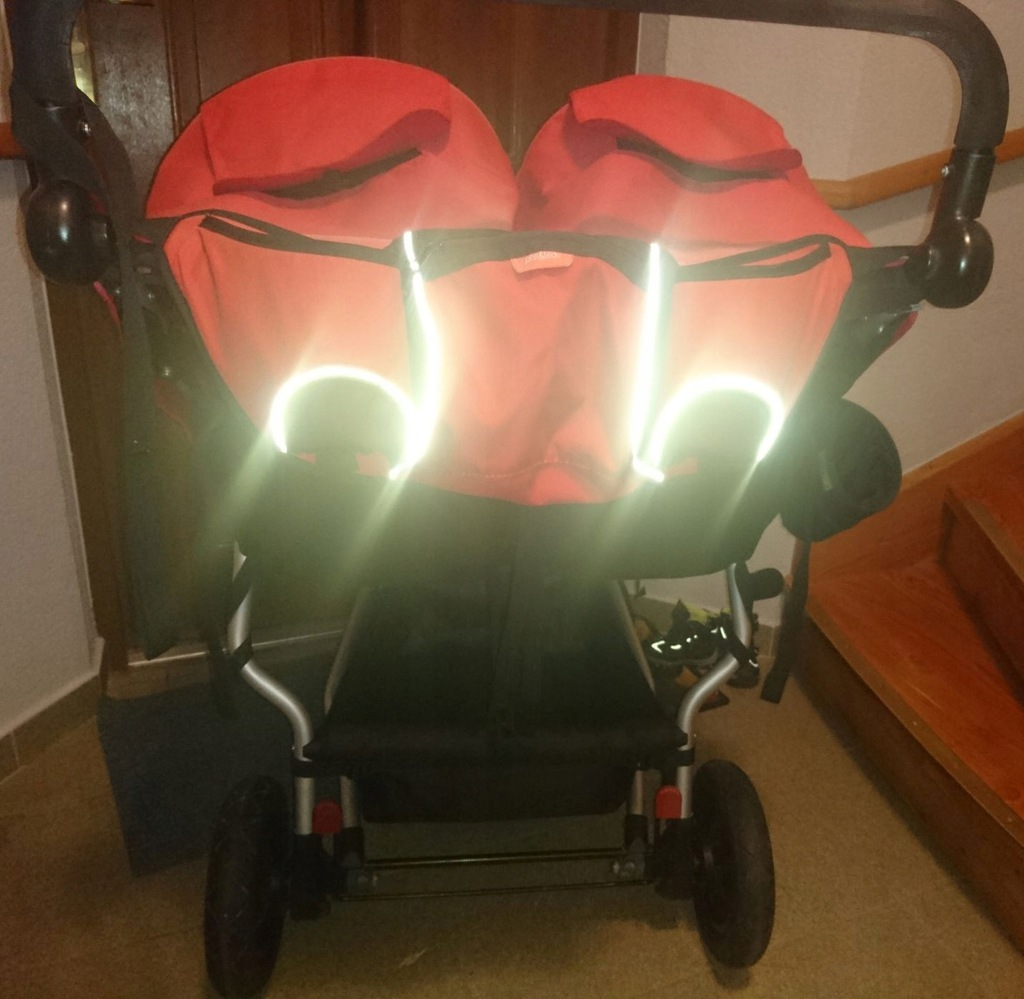Mountain Buggy Duet Używany Duet Mountain Buggy Spacerowy Gondola Carrycot