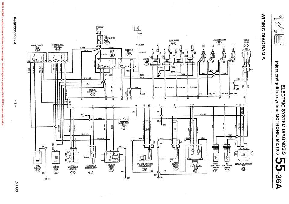 ALFA ROMEO 155 WIRING DIAGRAM - Auto Electrical Wiring Diagram