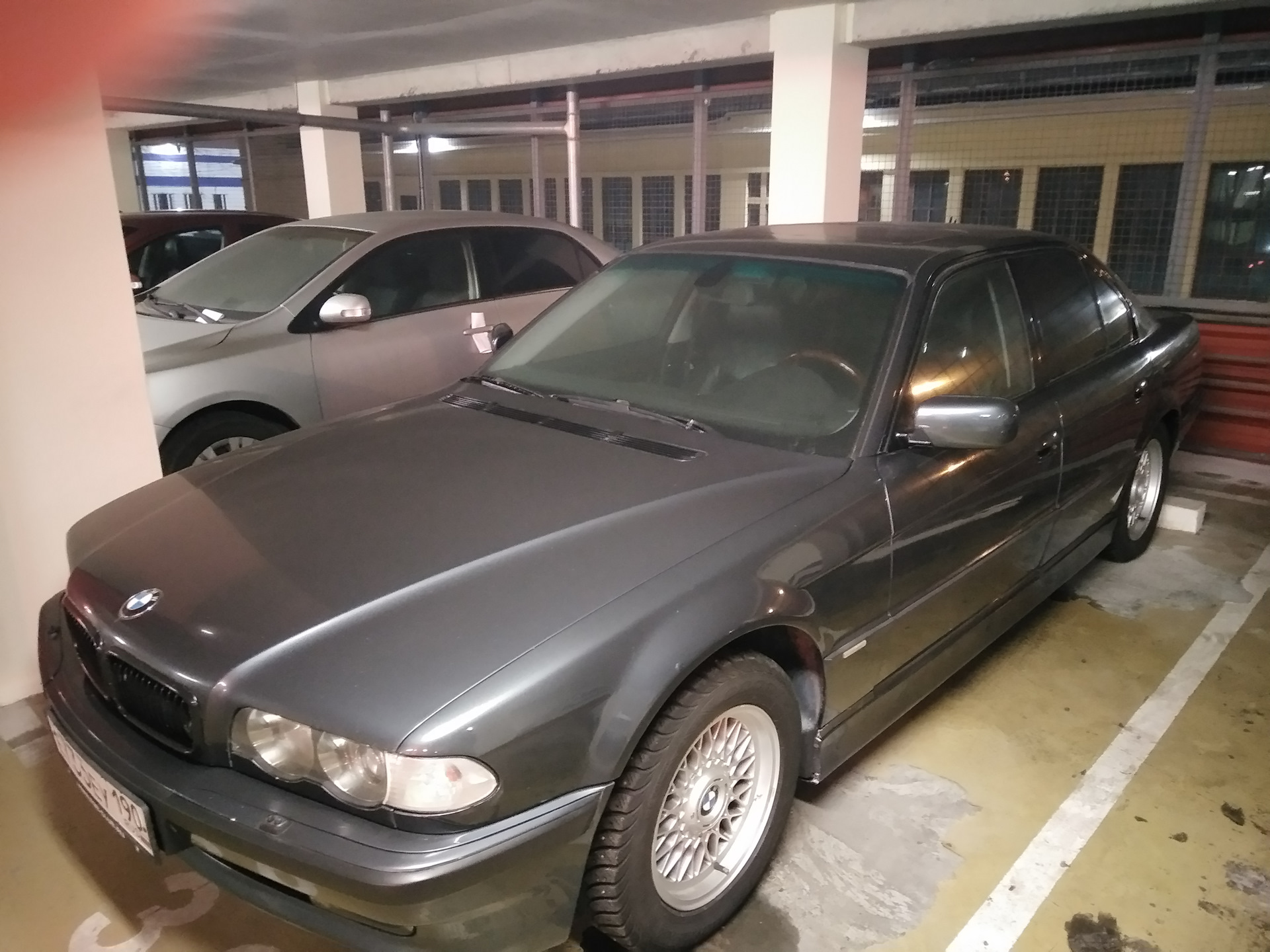 Anthrazit Metallic Bmw Зимовка бортжурнал Bmw 7 Series Anthrazit Metallic 1999 года на