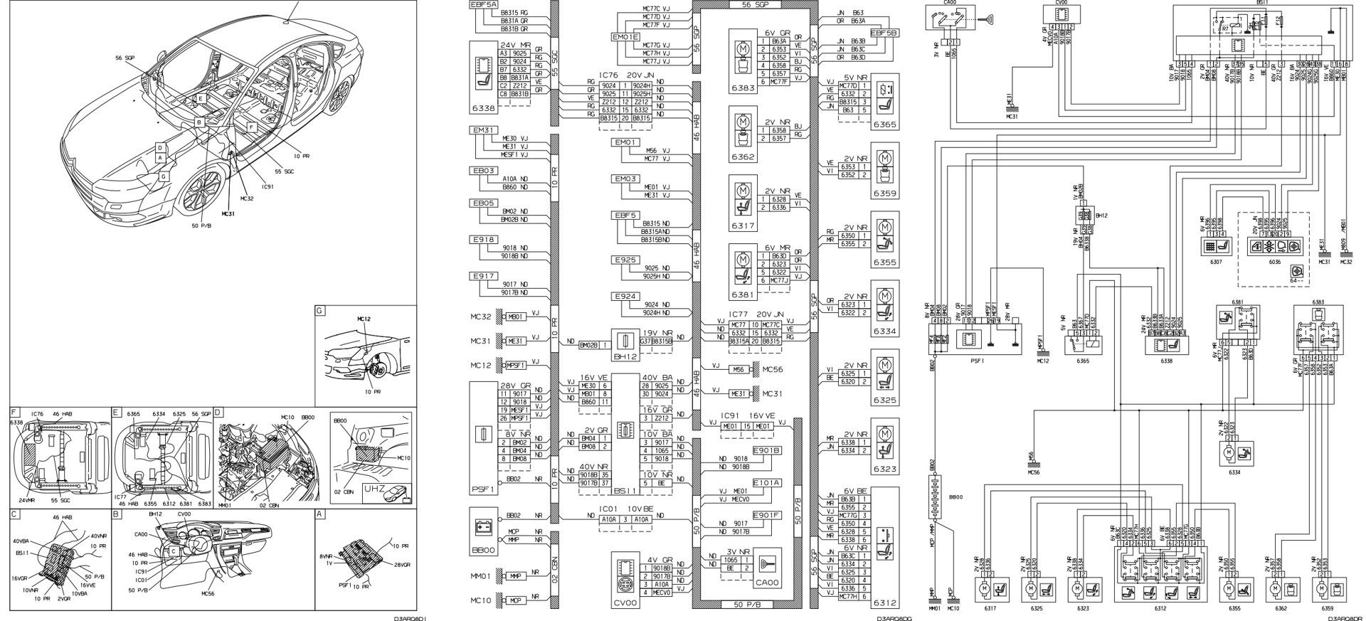 wiring diagram citroen c3 aircross espaol