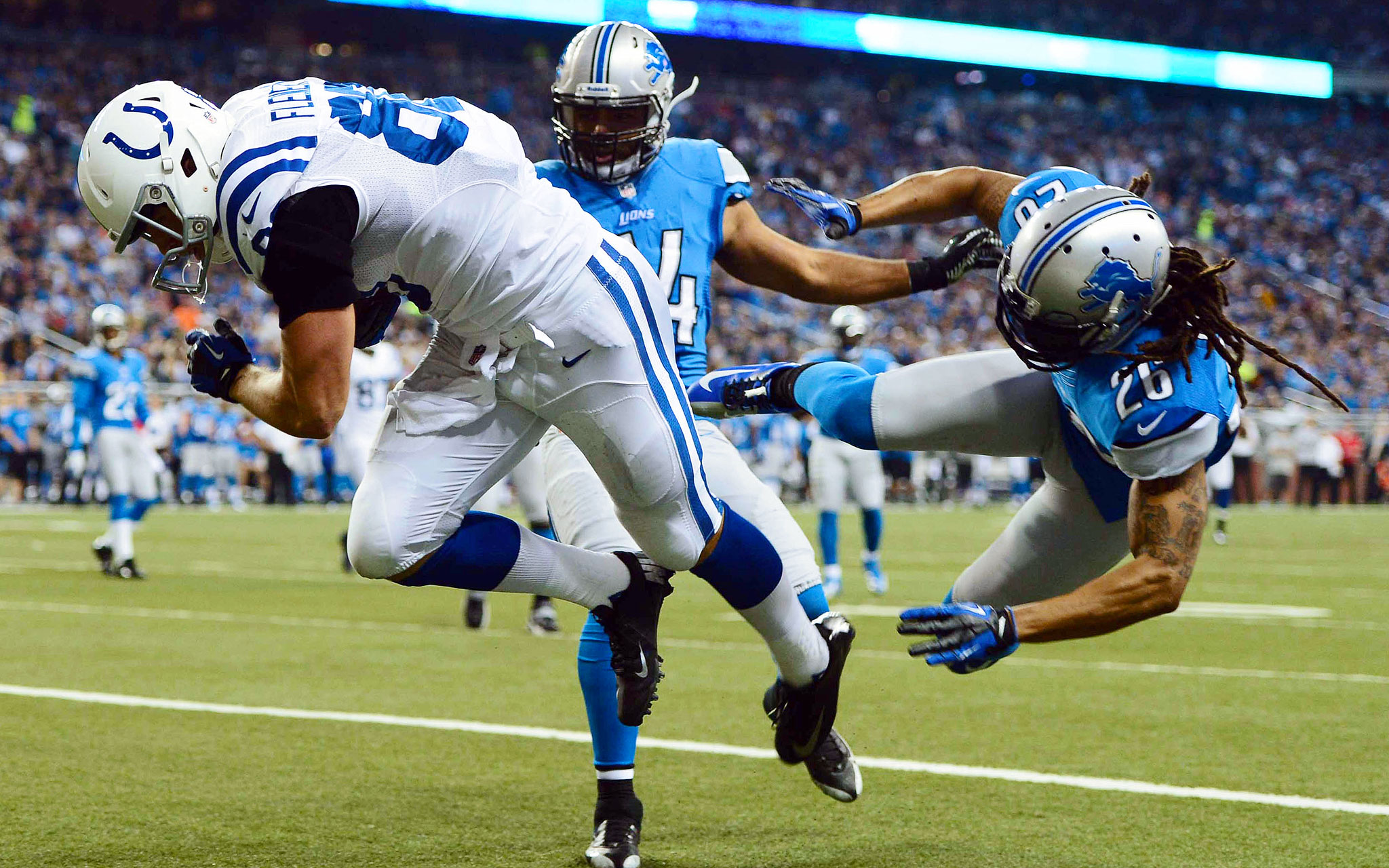 Nfl Breaking The Plane Nfl Week 13 Gallery Espn