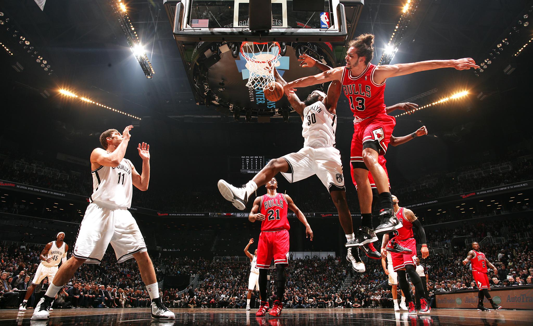 Hd Air Jordan Wallpaper Mid Air Collision Monster Blocks Of The Nba Playoffs Espn