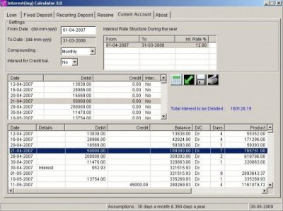 Interest(ing) Calculator | SourceForge.net