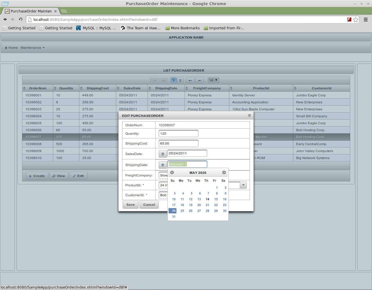 Calendar Application Description Virtual Classrooms Solarwinds Customer Portal Primefaces Crud Generator For Netbeans Download