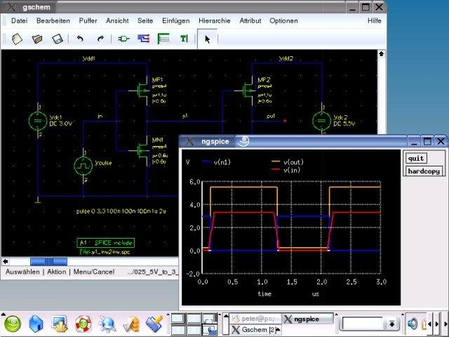 ngspice circuit simulator