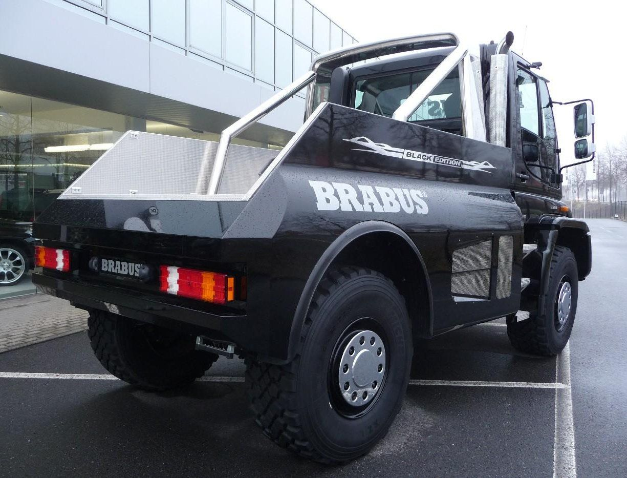 Beetle Car Hd Wallpapers Unimog U500 Brabus Black Edition Only Cars And Cars