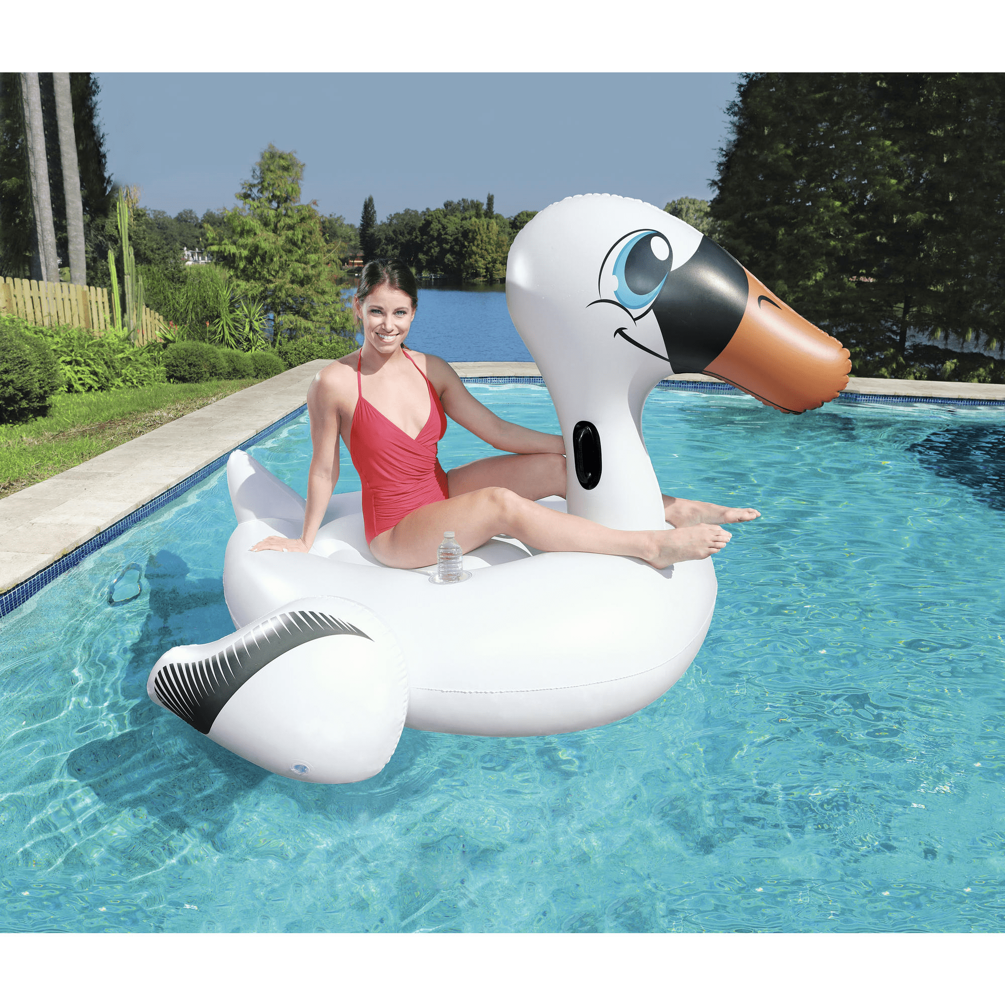 Bestway Pools Cape Town Bestway Over Sized Swan Rider Code 41109 Products