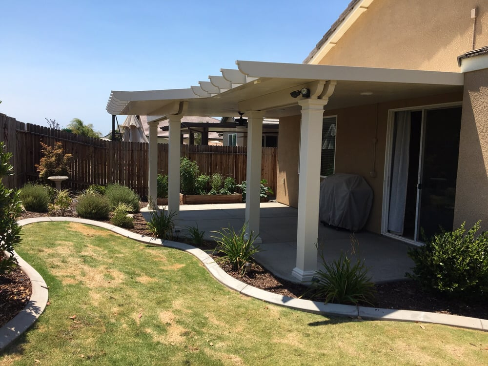 Bakersfield Patio Covers And Seamless Rain Gutters In Ca