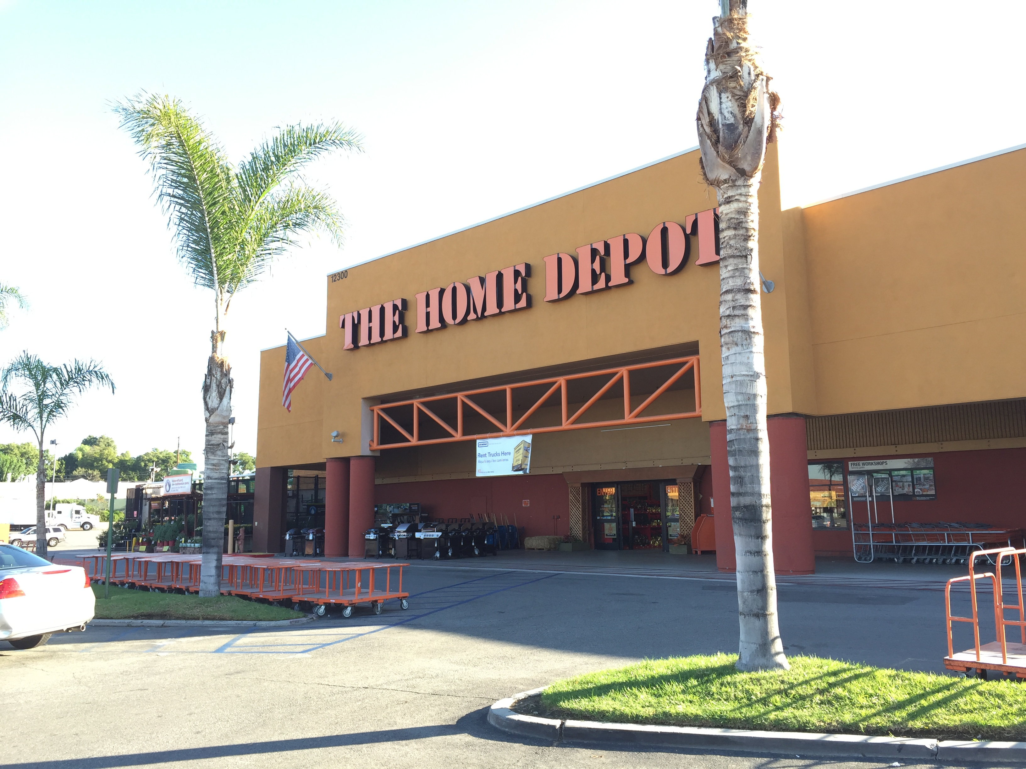 Home Depot Palm Trees The Home Depot 12300 La Mirada Blvd La Mirada Ca Hardware Stores