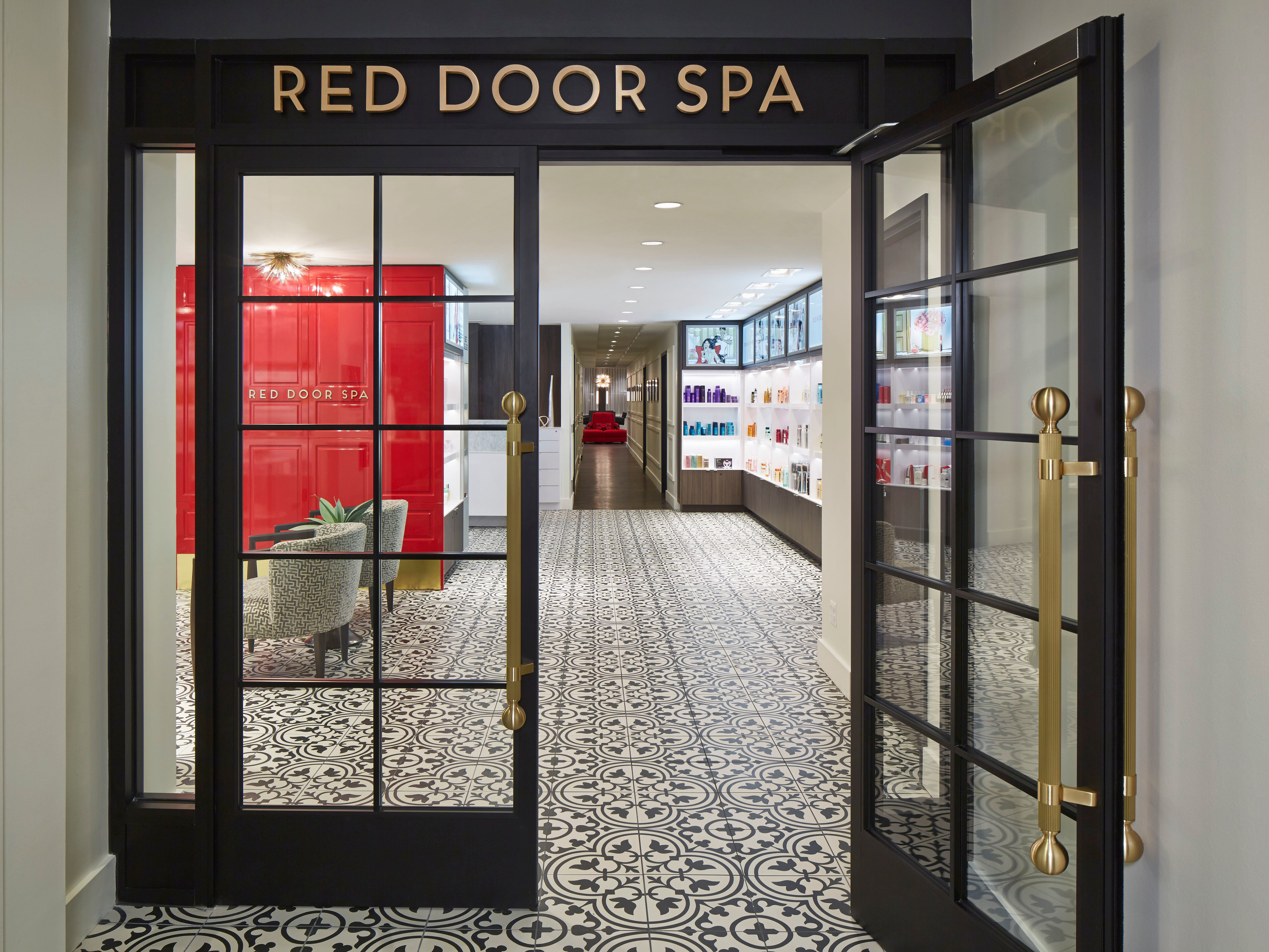 Salon Spa The Red Door Salon And Spa Chicago Illinois Il