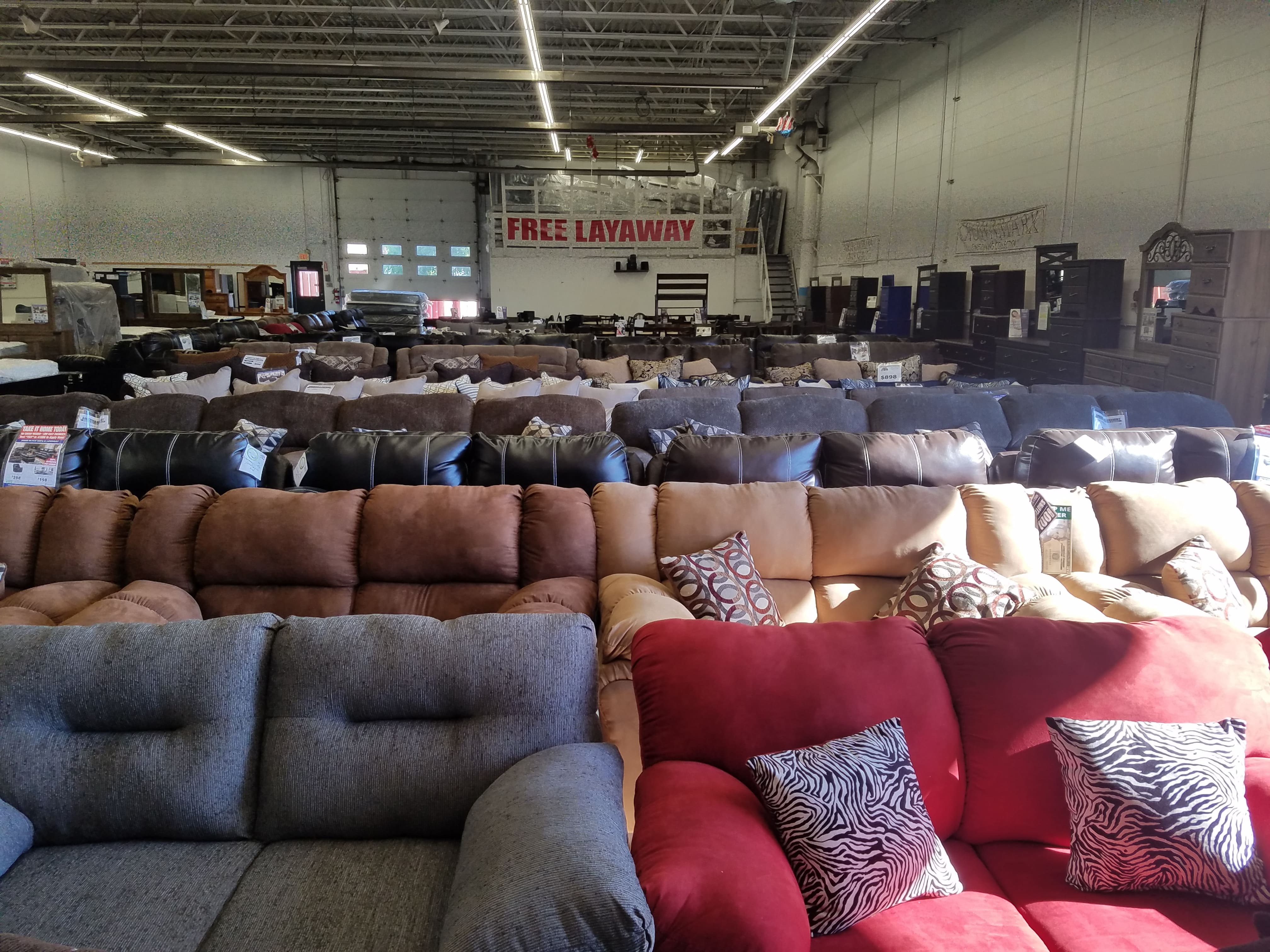 Furniture Stores Near Me With Layaway American Freight Furniture And Mattress 6767 Brookpark Road Parma