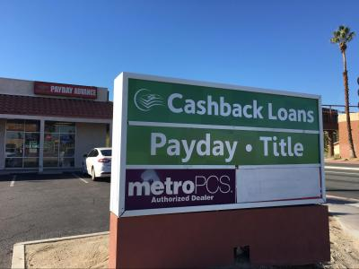 Cashback Loans, Cathedral City California (CA) - LocalDatabase.com