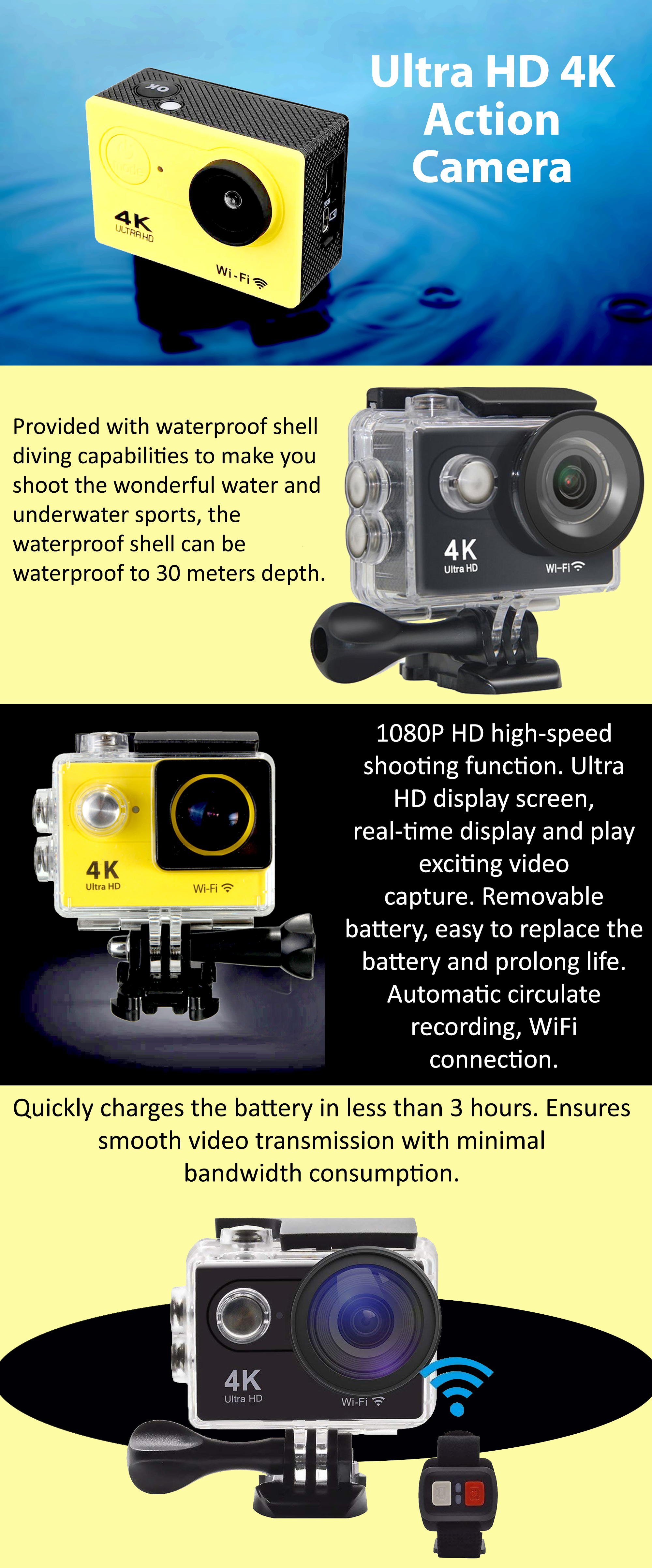 Shop Ultra Hd 4k Action Camera Online In Dubai Abu Dhabi And All Uae