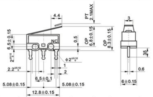 roller micro switch spdt wiring diagram