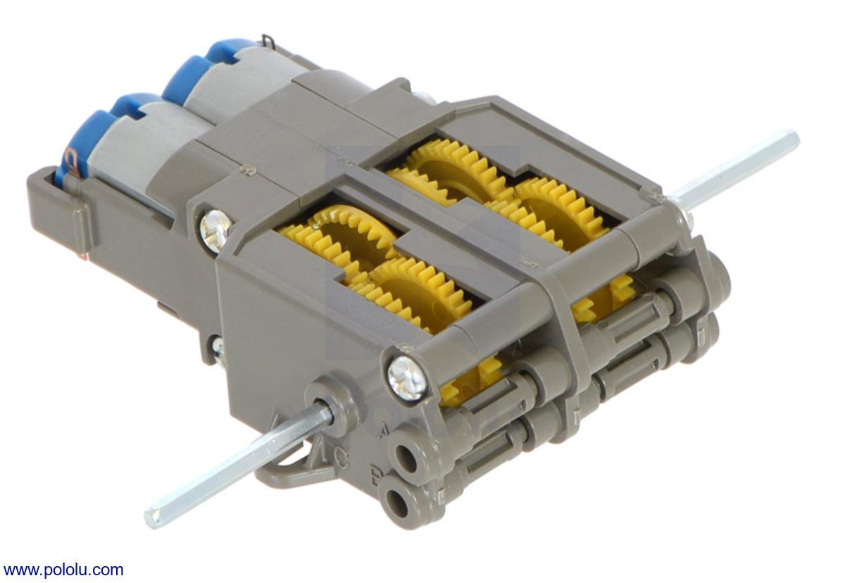 Pololu Tamiya 70097 Twin Motor Gearbox Kit