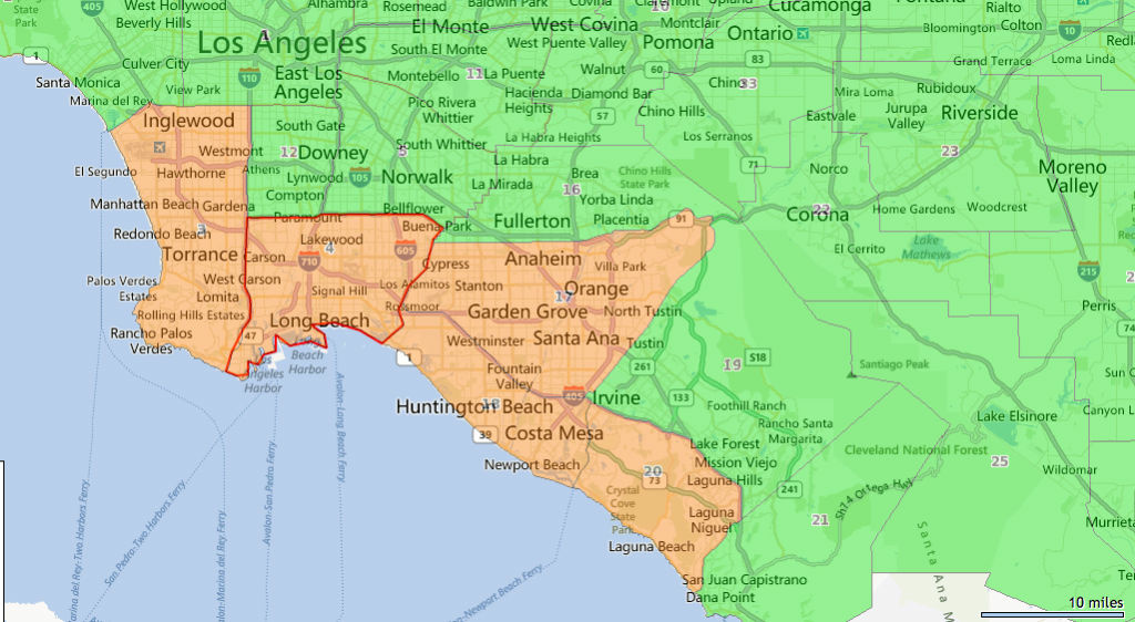 MAP \u0027No burn\u0027 alert in effect for parts of Los Angeles and Orange