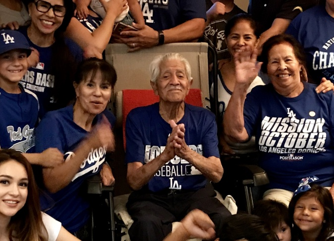 Audio In this family of superfans, 5 generations watch the Dodgers