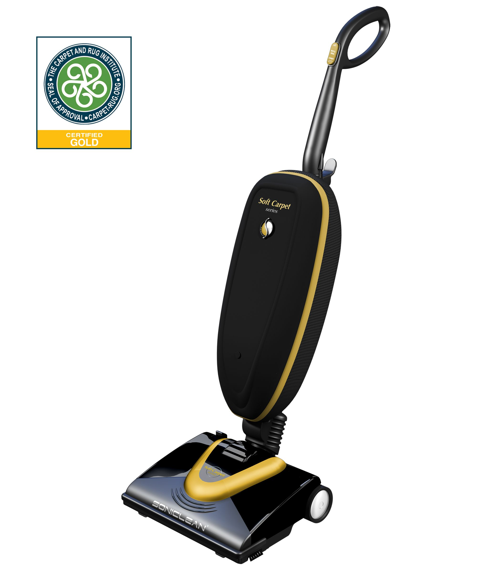 Carpet Cleaning Vacuum Soniclean Soft Carpet Upright Vacuum With Sonic Cleaning Technology