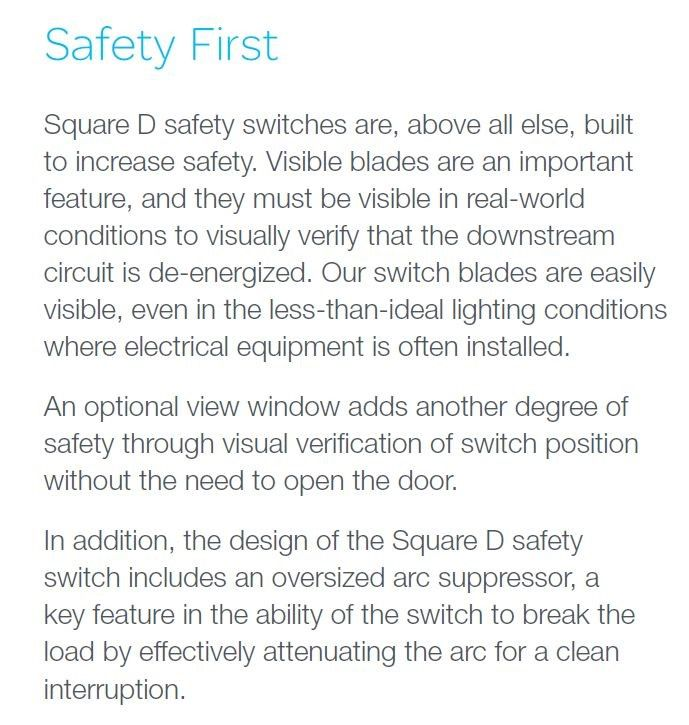 Square D 30-Amp Fusible Metallic Disconnect at Lowes