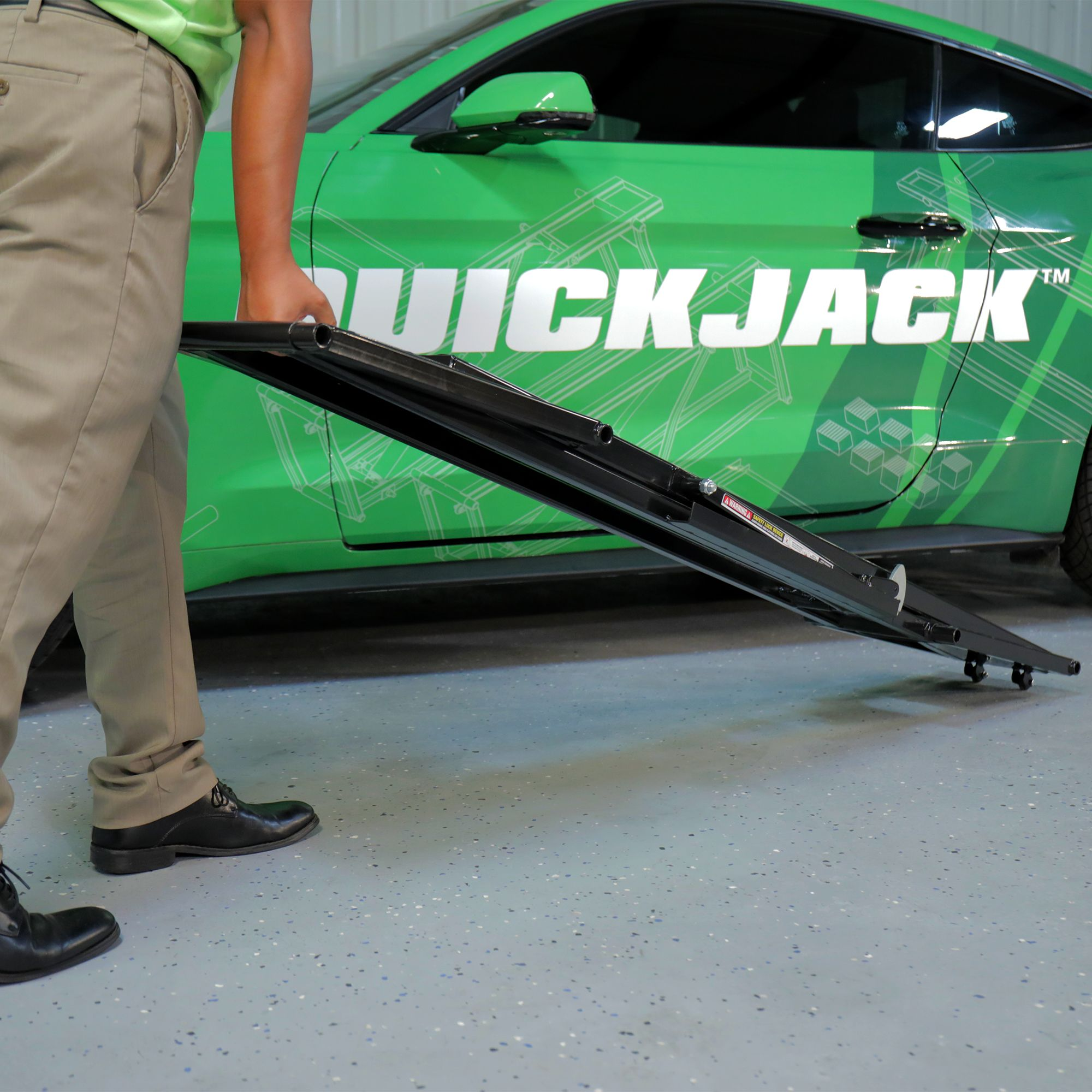 Domestic Garage Car Lift Quickjack 5 000 Lb Capacity Portable Car Lift