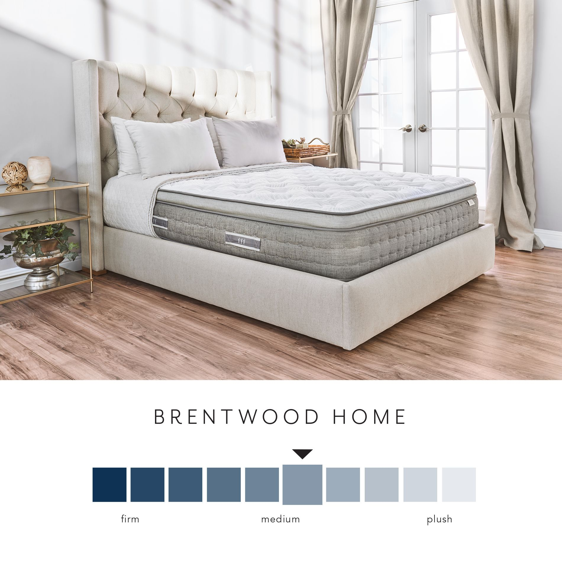 Pillow Top King Mattress Brentwood Home Coronado 14