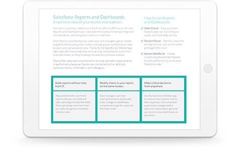 What Reports  Dashboards and Wave Analytics Can Do For You