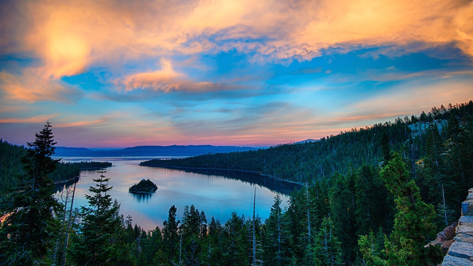 Cool Wallpapers Water Fall Landscape Pictures View Images Of Lake Tahoe