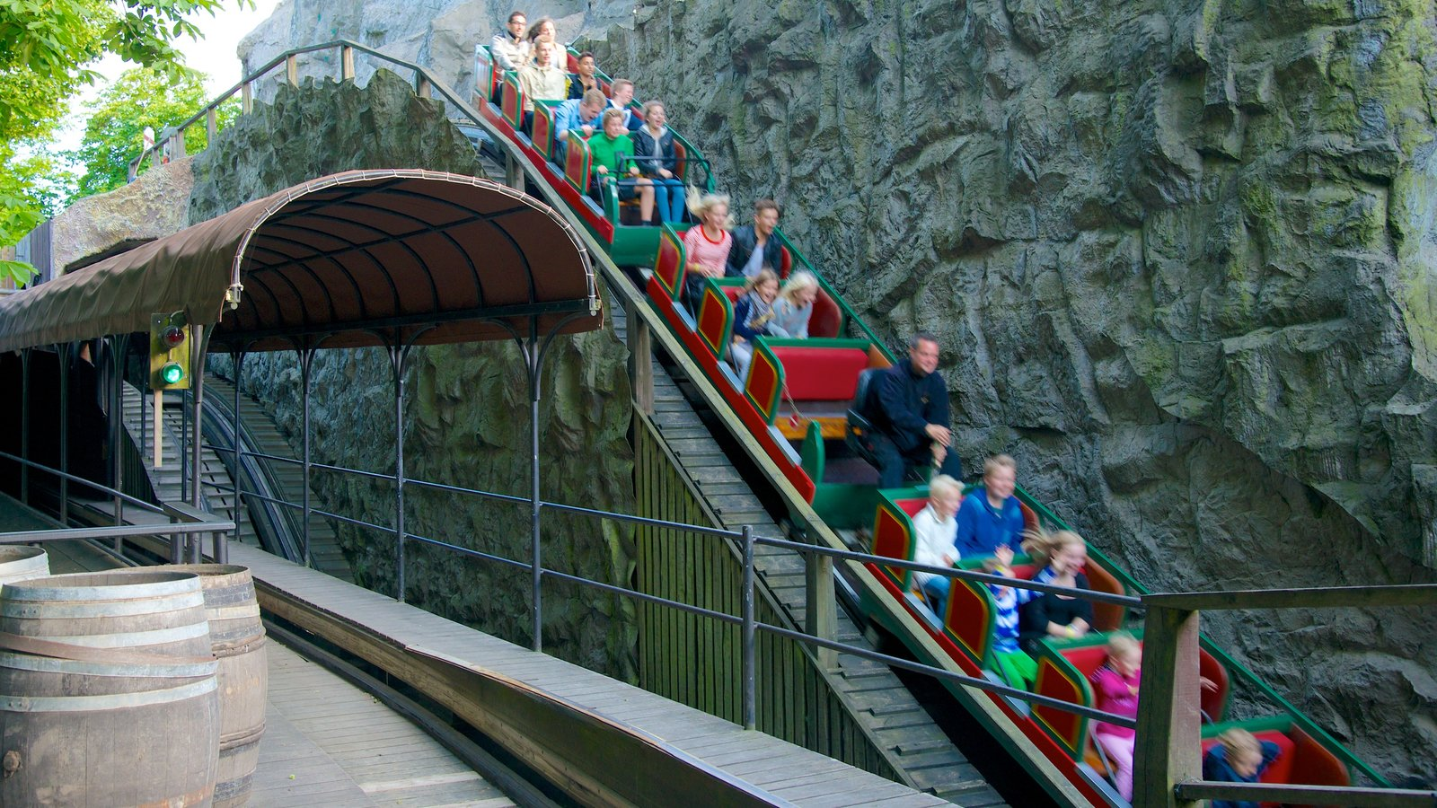 Tivoli Amusement Park Aarhus Tivoli Gardens Pictures View Photos And Images Of Tivoli