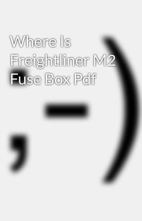 M2 Fuse Box standard electrical wiring diagram
