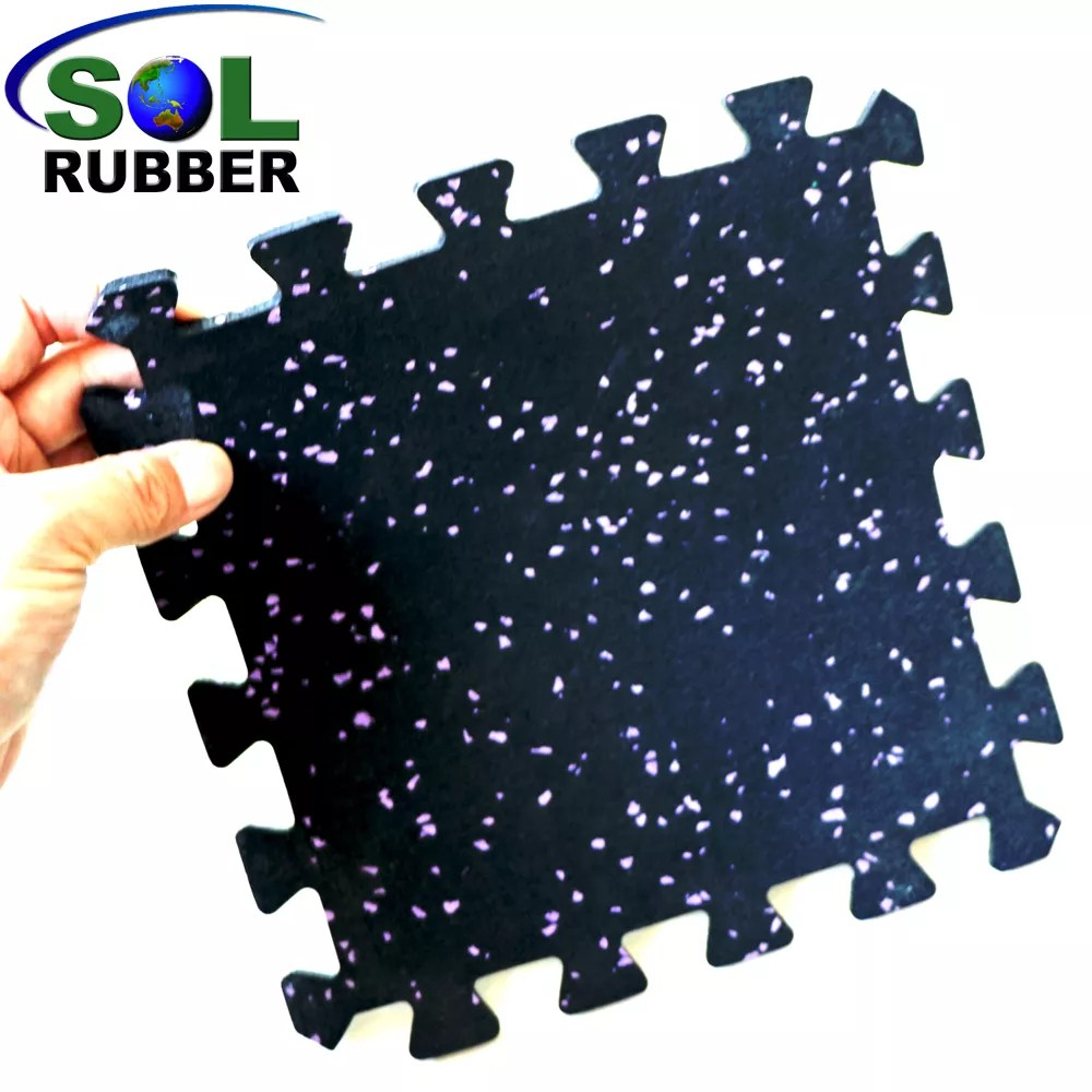 Epdm Rol Sol Rubber Crossfit Gym Rubber Roll Interlocking Flooring Tiles