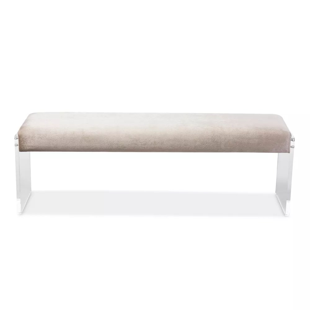 Lounge Living Room Bench Acrylic Long Chair Waiting Room Bench Stool Buy Acrylic Furniture Acrylic Stool Living Room Bench Product On Dongguan Jingfumei Acrylic Products Co Ltd