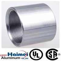 China aluminum threaded pipe fittings of rigid coupling ...