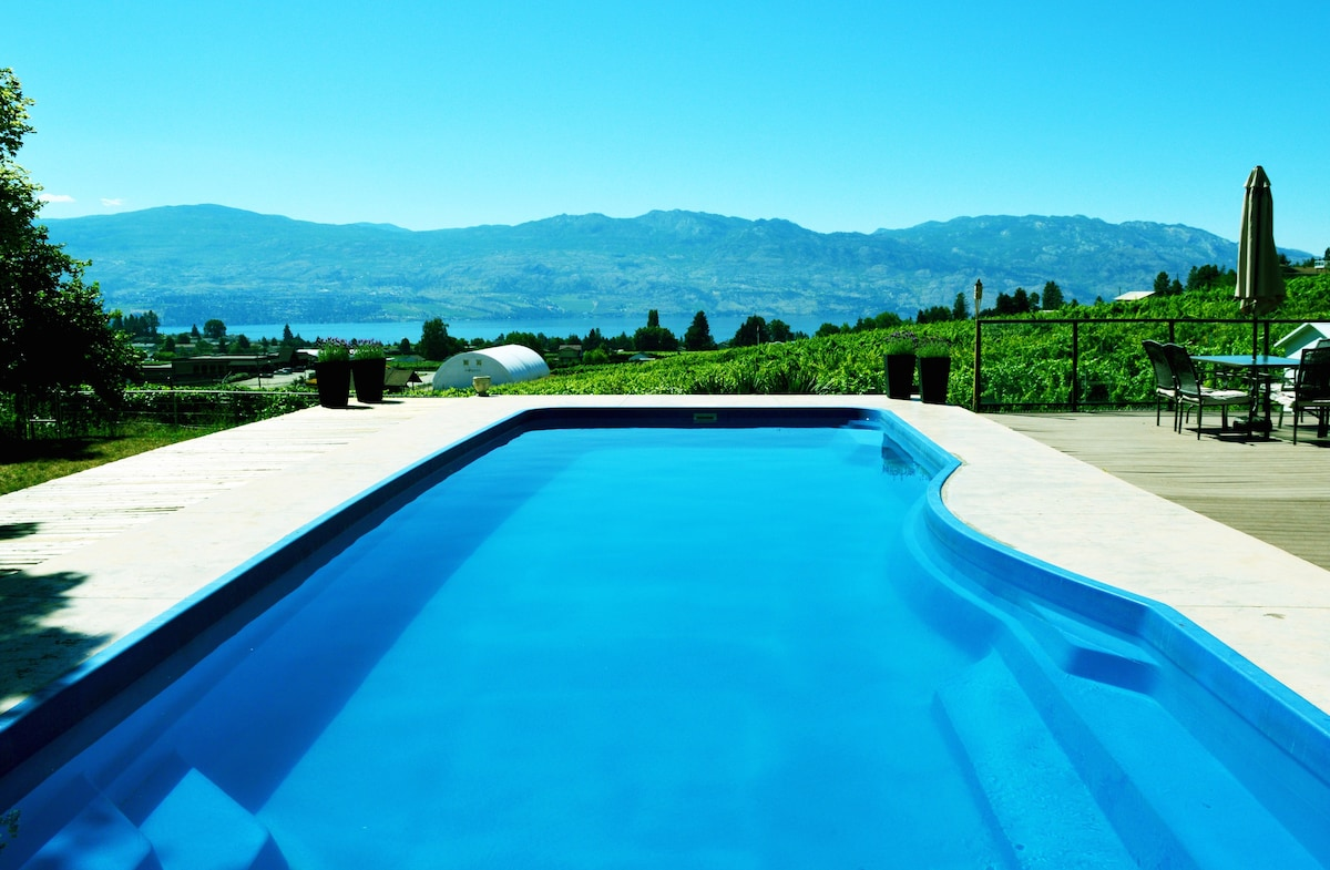 Jacuzzi Pool And Spa Kelowna Casa Kelowna: Pool, Hot Tub, 5 Bedrooms - Houses For Rent